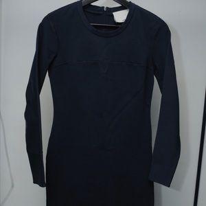 3.1 Phillip Lim Navy Long Sleeve Dress